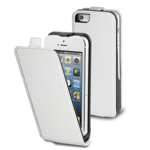 MUVIT APPLE IPHONE 5/5S SLIM CASE  WHITE