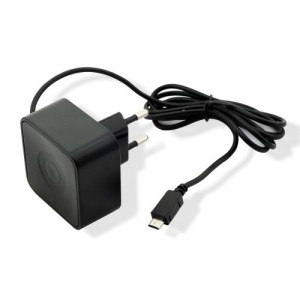 MUVIT TRAVEL CHARGER SQ MICRO USB 2.4A BLACK