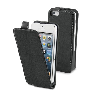 MUVIT APPLE IPHONE 5/5S SLIM CASE BLACK