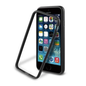 MUVIT APPLE IPHONE 6/6S IBELT BUMPER CASE  BLACK