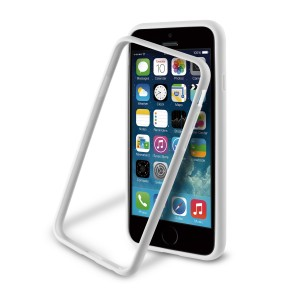 MUVIT APPLE IPHONE 6/6S IBELT BUMPER CASE WHITE
