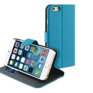 MUVIT APPLE IPHONE 6/6S WALLET CASE TURQUOISE/SAND