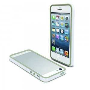 MUVIT APPLE IPHONE 5/5S BUMPER CASE WHITE
