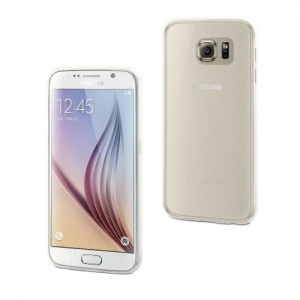 MUVIT SAMSUNG GALAXY S6 THINGEL CASE TRANSPARANT