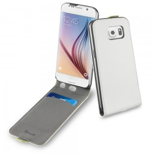 MUVIT SAMSUNG GALAXY S6 SLIM CASE WHITE