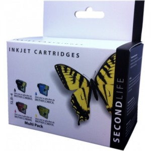 BROTHER LC980/1100 MULTIPACK SECONDLIFE CARTRIDGES